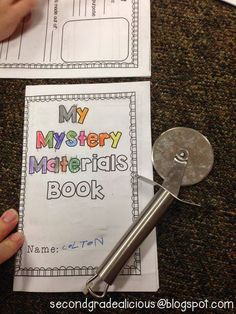 Secondgradealicious: Materials, Objects, and Everyday Structures Primary Science, Third Grade Science, Kindergarten Science, Primary School, Materials And Structures, Properties Of Materials, Materials Science, Science Projects, Science Experiments
