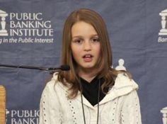 This young woman knows what she's talking about. Canadian pre-teen economic whiz, Victoria Grant, explains why Canada is in debt and offers some solutions.