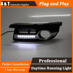103.50$  Buy now - http://alibgd.worldwells.pw/go.php?t=32680969892 - A&T car styling  For VW Scirocco LED DRL For Jetta  led fog lamps daytime running light High brightness guide LED DRL B style