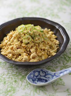 【糖質オフ】豆腐のチャーハン風