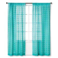 Xhilaration™ Crochet Curtain Panel. Image 1 of 1.