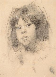 Nicolai Fechin, Indian Girl