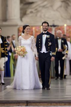 "Another Royal Wedding! Prince Carl Philip of Sweden and Sofia Hellqvist Say, ""I Do"""