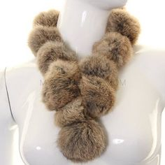 Beige Tribble Neck Scarf. Show your Klingon sweetheart you love her by presenting her with trophies from your latest tribble-slaying mission!