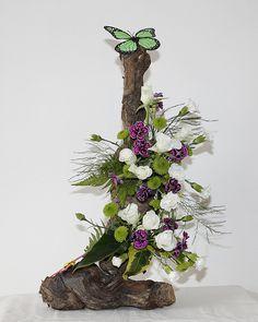 Flower Arrangement | Flower arrangement done on two old grap… | Graham Churchill | Flickr