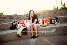 @Crysta Davis Vlasak same idea but with your theater shirts maybe? I think a senior memorabilia photo would be cool!