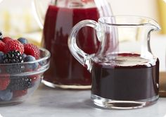 Driscoll's Blueberry Lemon Syrup. www.driscolls.com