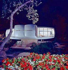 Monsantos House of Tomorrow, retro-futuristic home, retro-futuristic architecture