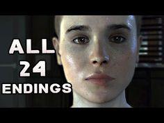 Beyond Two Souls ALL ENDINGS 24 Endings EVERY Possible Ending END - YouTube