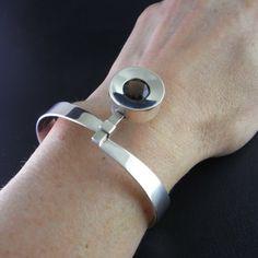 Smoky Quartz Bracelet Designer Bracelet Finnish by SalonUber