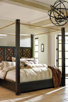 1000 images about beautiful beds master bedroom for Beautifully decorated beds