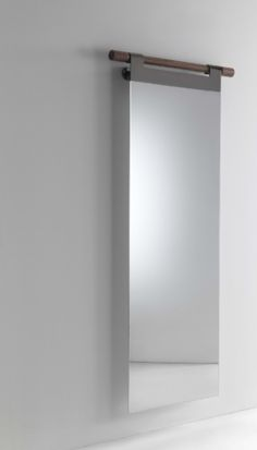 Hook mirror from Porada. Buy it at Kibo Living.