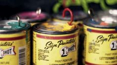 The dying art of Pinstriping. Andy the Pinstriper. Video by HBTV. #DyingArtform