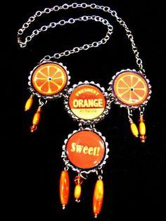 The Craft Junkie: Bottle Cap Necklace