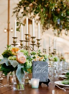 Slate table marker | Jen Fariello