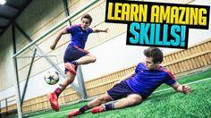 Learn Ronaldinho/Neymar Skills With SkillTwins