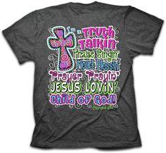 Truth Talking Praise Singing Child of God - T-Shirt - JTbliss