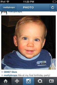Matty b raps when he is a baby isn't he so cute