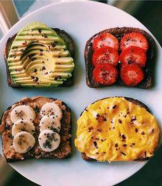 10 Easy and Healthy Breakfast Menu Idea - Assyifa Website Healthy Breakfast Menu, Healthy Snacks, Breakfast Recipes, Healthy Recipes, Breakfast Toast, Dinner Healthy, Healthy Habits, Eating Healthy, Free Recipes