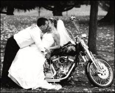 Our bike will definitely be at our wedding and in our photos and I want to recreate our first photo Biker Wedding Theme, Motorcycle Wedding, Engagement Pictures, Wedding Pictures, Our Wedding Day, Dream Wedding, Wedding Cars, Post Wedding, Framing Photography
