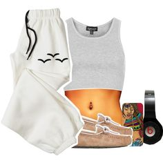 Offline, created by chyna-campbell on Polyvore