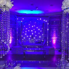 mariage en bleu, par Prestigia Events