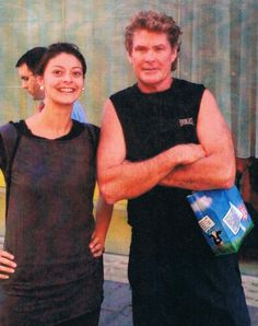 Hoff'll be there! Baywatch star popped into our Westfield store