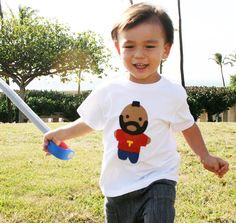Looks Like Mr. Tee... Toddler TShirt by micielomicielo on Etsy, $25.00