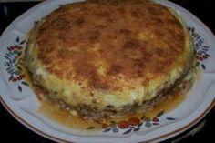 Pastel de patata y carne picada