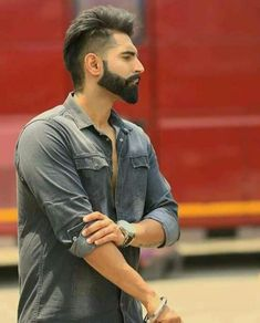 parmish verma hd wallpaper latest 2018 Parmish Verma Hair Style Back Side Stylish Parmish Verma Hair Style Back Side Beard Styles Names, Beard Styles For Men, Hair And Beard Styles, Hair Styles, Mens Hairstyles With Beard, Cool Hairstyles For Men, Haircuts For Men, Parmish Verma Beard, Beautiful Men Faces