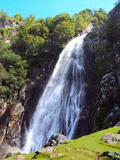 Aber Falls, Abergwyngregyn, Wales