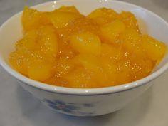 India - simple recipe for kid-friendly mango chutney