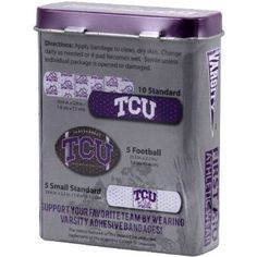 NCAA TCU Horned Frogs Adhesive Bandages