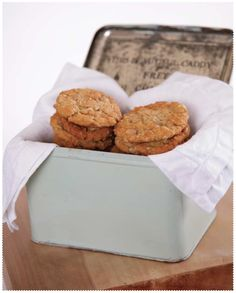 Anzac Biscuits - Images from Gran's Kitchen www.granstable.com