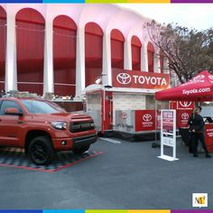 Our MC² Consumer Events division activated interactive booths for Toyota at The Forum in Los Angeles. With large displays and giveaways, attendees were excited to engage. #eventmarketing #eventprofs #events #business #MC2