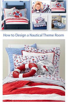 Article on How to Design a Nautical Theme Kids Bedroom
