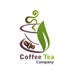 Coffee shop logo, tea logo и custom logo design. Logo Design Services, Custom Logo Design, Custom Logos, Branding Design, Tea Logo, Coffee Shop Logo, Tea Companies, Professional Logo Design, Logo Google