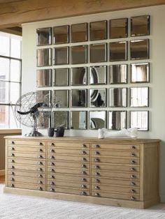 Century Furniture Print Maker's Cabinet