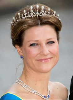 Daughter of King Harald and Queen Sonja and fourth in line for the Norwegian throne after her nephew Prince Sverre Magnus. Princess Martha Louise of Norway. Older sister of H.R.H Crown Prince Haakon.