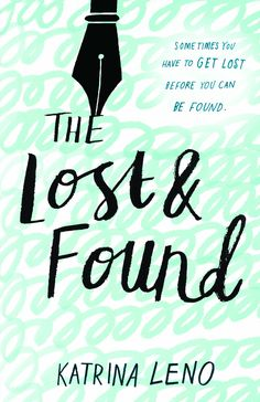 #CoverReveal: The Lost & Found - Katrina Leno, pb redesign