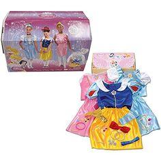 Disneys Princess Dress up trunk with accessory.