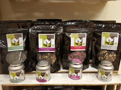 Made in Ashford shop rosie lee tea loose leaf tea Grey Roses, Loose Leaf Tea, Mason Jars, Mango, Green, Shop, How To Make, Manga, Mason Jar