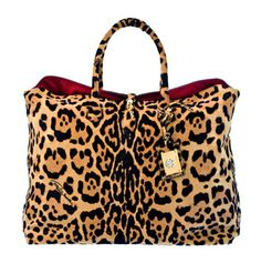 Roberto Cavalli animal print bag