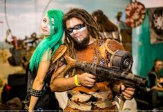 Postapocalypse Cosplay EveryCon 2014 After Us Guns'n'Cookies