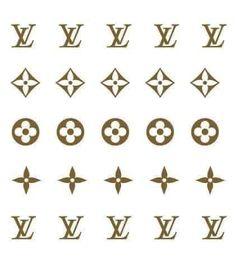 Louis Vuitton Tattoo, Louis Vuitton Nails, Louis Vuitton Pattern, Hipster Vintage, Plakat Design, Finger Tats, Nail Decals, Acrylic Nails, Stencils