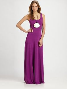 Bold color, flared at hips
