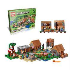 LEPIN 18008 Mine Craft series The Village 1673PCS Puzzle Brick Toys Compatible legoed 21128