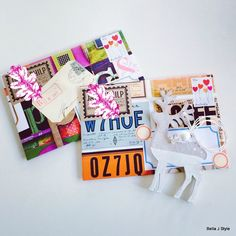 Mailart by Bella J Style Mail Art Envelope #MailArt