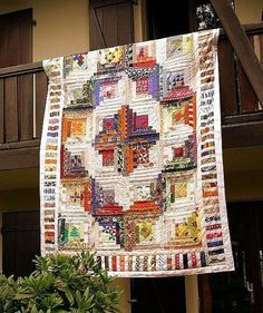Log Cabin Quilt.. | Quilts & Quilting