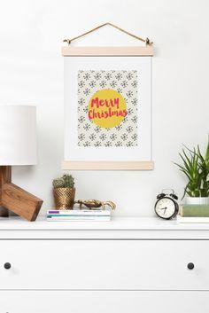 Allyson Johnson Merry Christmas Art Print | DENY Designs Home Accessories